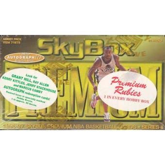 1996/97 Skybox Premium Series 2 Basketball Hobby Box