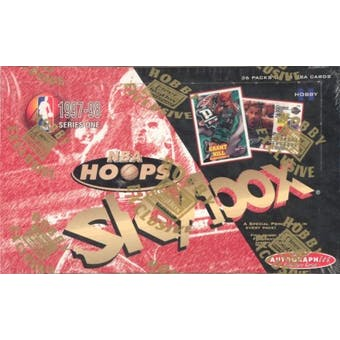 1997/98 Hoops Series 1 Basketball Hobby Box