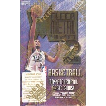 1996/97 Skybox Metal Series 2 Basketball Hobby Box