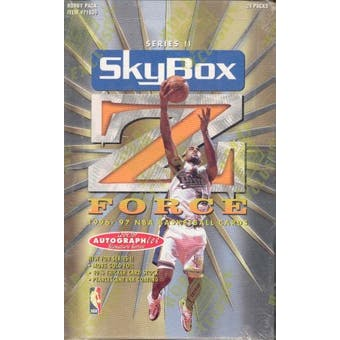 1996/97 Skybox Z-Force Series 2 Basketball Hobby Box