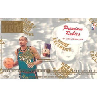 1996/97 Skybox Premium Series 1 Basketball Hobby Box