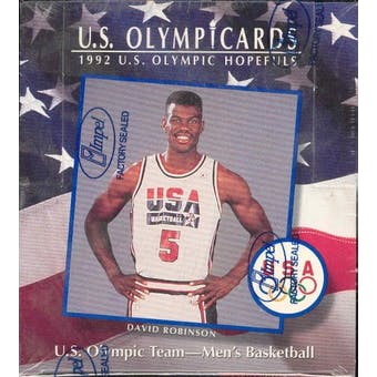 1992 Impel Olympic Cards Basketball Box