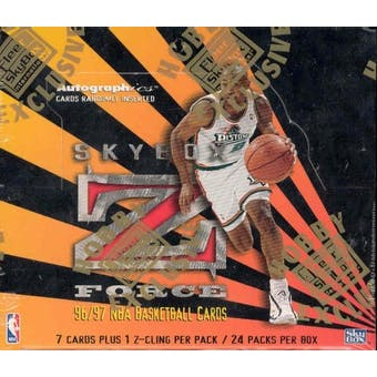 1996/97 Skybox Z-Force Series 1 Basketball Hobby Box
