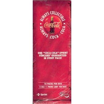 Coca-Cola Phone Card Box (1996 Scoreboard) (Reed Buy)