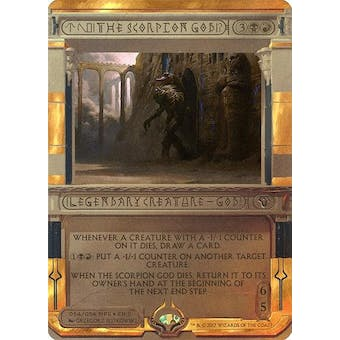Magic the Gathering Amonkhet Invocation Single The Scorpion God FOIL - NEAR MINT (NM)