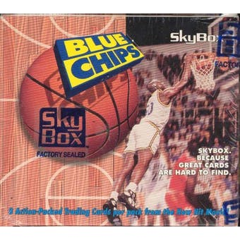 Blue Chips Basketball Movie Cards 36 Pack Box (1994 Skybox)