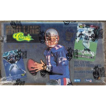 1995 Pro Line Series 2 Football Hobby Box