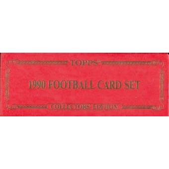 1990 Topps Tiffany Football Factory Set