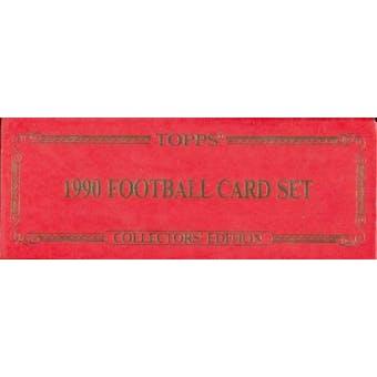 1990 Topps Tiffany Football Factory Set