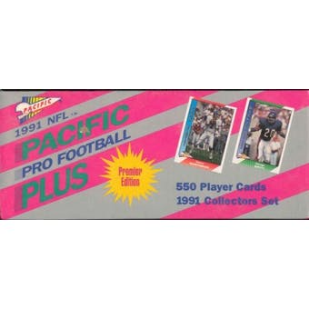 1991 Pacific Plus Football Factory Set