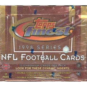 1998 Topps Finest Series 2 Football Jumbo Box