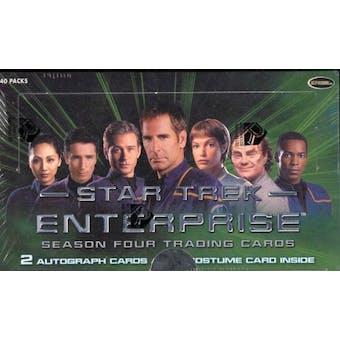 Star Trek Enterprise Season 4 Trading Cards Box (Rittenhouse 2005)