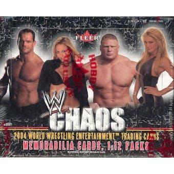 2004 Fleer WWF WWE Chaos Wrestling Hobby Box