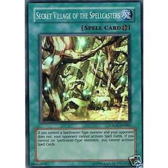 Yu-Gi-Oh Crossroads of Chaos 1st Ed. Single Secret Village of the Spellcasters Super Rare
