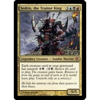 Magic the Gathering Shards of Alara Single Sedris, the Traitor King Foil