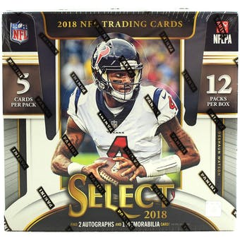 2018 Panini Select Football Hobby Box