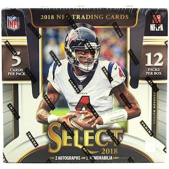 2018 Panini Select Football Hobby Box