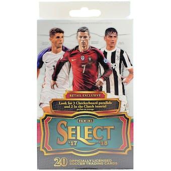 2017/18 Panini Select Soccer 20ct Retail Hanger Box