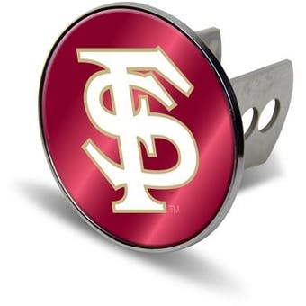 """Florida State Seminoles Rico Industries 4 """" Laser Trailer Hitch Cover"""