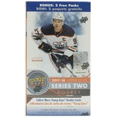 2017/18 Upper Deck Series 2 Hockey 12-Pack Box