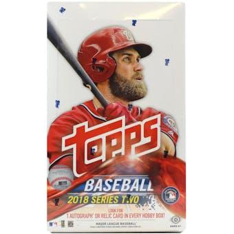 2018 Topps Series 2 Baseball Hobby Box