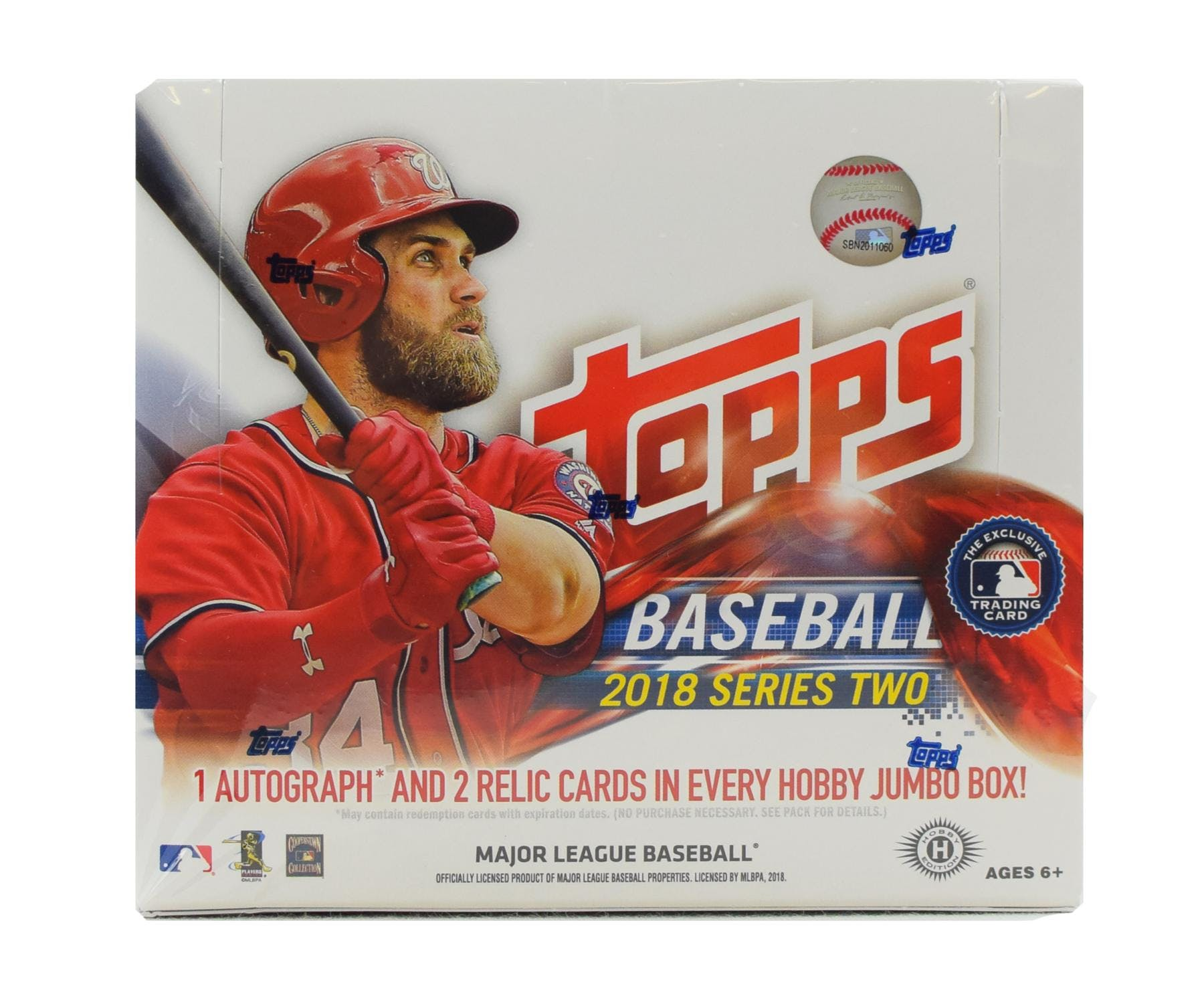2018 Topps Series 2 Baseball Hobby Jumbo Box Da Card World
