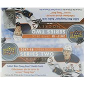 2017/18 Upper Deck Series 2 Hockey 24-Pack Box