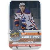 2017/18 Upper Deck Series 2 Hockey Tin (Box)