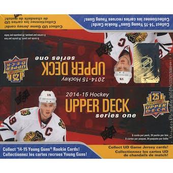 2014/15 Upper Deck Series 1 Hockey 24-Pack Box