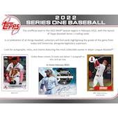 2022 Topps Series 1 Baseball Hobby Box (Presell)