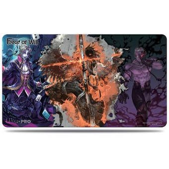 CLOSEOUT - ULTRA PRO SHADOW, SEVEN KINGS FORCE OF WILL PLAYMAT - 12 COUNT CASE