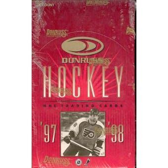 1997/98 Donruss Hockey 36 Pack Box