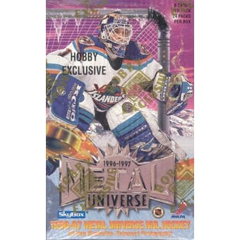 1996/97 Fleer Metal Universe Hockey Hobby Box