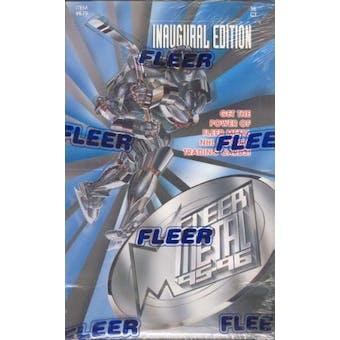 1995/96 Fleer Metal Hockey Hobby Box