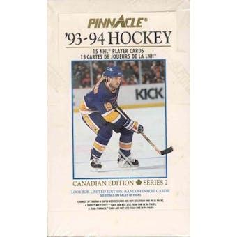1993/94 Pinnacle Series 2 Canadian Hockey Box