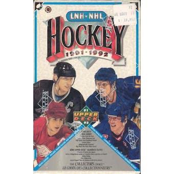 1991/92 Upper Deck French Hi # Hockey Hobby Box