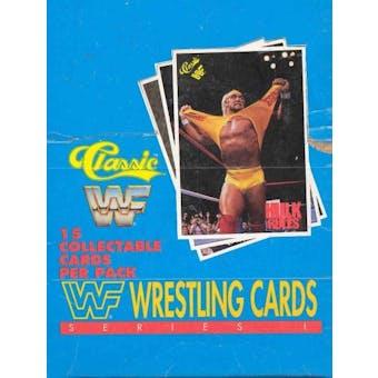 1990 Classic WWF Wrestling Hobby Box