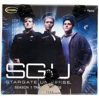 Stargate Universe Season 1 Trading Cards Box (Rittenhouse 2010)