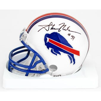 Shane Nelson Autographed Buffalo Bills Football Mini Helmet