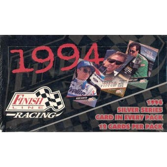 1994 Finish Line Silver Series Racing Hobby Box