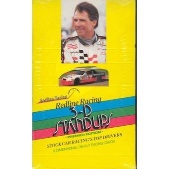 1992 Redline Racing 3-D Stand Ups Premier Edition Racing Box