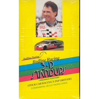 1992 Redline Racing 3-D Stand Ups Premier Edition Racing Box