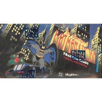 Adventures of Batman and Robin Hobby Box (1995 Skybox) (Reed Buy)