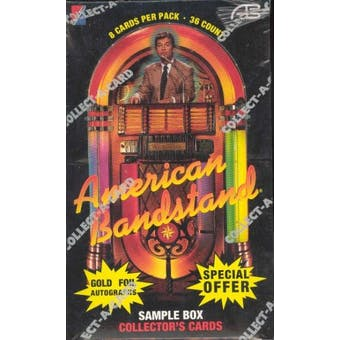 American Bandstand Box (1993 Collect-A-Card)