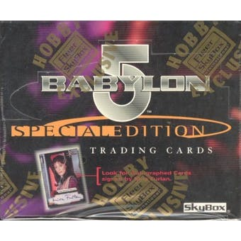 Babylon 5 Special Edition Hobby Box (1997 Fleer/Skybox)