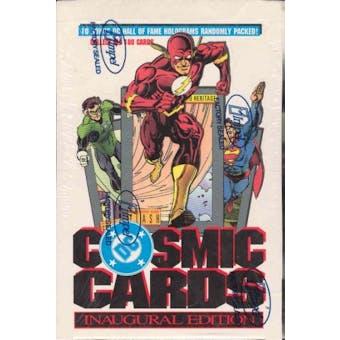 DC Cosmic Cards Hobby Box (1991 Impel)