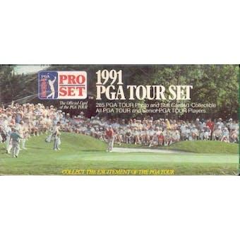 1991 Pro Set Golf Factory Set
