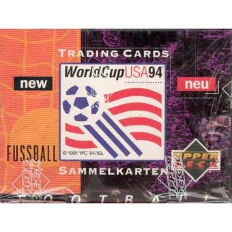 1994 Upper Deck World Cup German Soccer Box