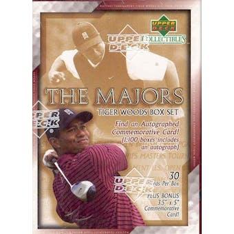2002 Upper Deck Tiger Woods - The Majors Golf Box Set