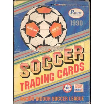 1990 Pacific Soccer Wax Box
